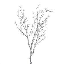 ARTIFICIAL MANZANITA TREE SILVER  BRANCH APPROX 100CM
