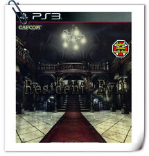 PS3 RESIDENT EVIL HD REMASTER 中英文 SONY PlayStation Action Adventure Games Capcom