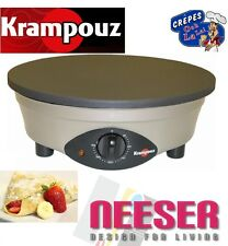KRAMPOUZ crepe maker Kemper ø 40 cm ORIGINAL FRANCE professional Item + INVOICE
