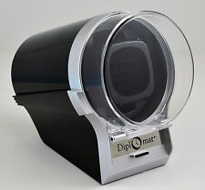 Single Diplomat Watch Winder Diplomat Case Box Storage Timer  Automatic