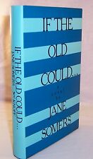 Jane Somers/Doris Lessing IF THE OLD COULD... First Edition-FREE SHIPPING to USA