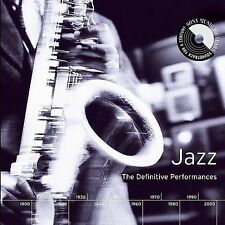 Various Artists, Jazz: The Definitive Performances Audio CD