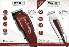 WAHL BALDING CLIPPER 5STAR HAIR CUTTING MACHINE + WIDE DETAILER TRIMMER