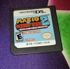 Mario vs Donkey Kong 2 March of the Minis DS Not For Resale Demo