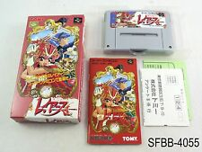 Complete Magic Knight Rayearth Super Famicom Japanese Import SFC JP US Seller B