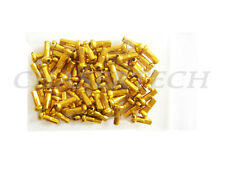 "New MTB Road BMX Bike 7075 Alloy Spoke Nipples 2.0mm 14G 1/2"" 72 Pcs Gold"