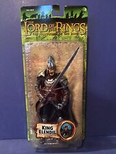 "Lord of the Rings Fellowship of the Ring 6"" Figure King Elendil 2004 Toybiz New"
