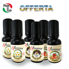 KIT MIX 6 x 20ml LIQUIDI MIX PER SIGARETTE ELETTRONICHE E-LIQUID  MADE IN ITALY
