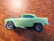 Aurora AFX MagnaTraction 55 Chevy Belair #1064 Green! New Old Stock !