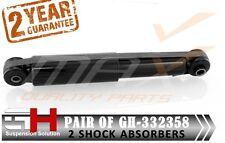 2 REAR GAS AMMORTIZZATORI FIAT 500, PANDA, FORD KA, STREET KA GH-332358