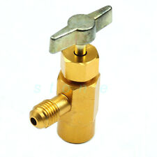 "Can Dispensing R-134a R-134 AC Refrigerant Tap 1/2"" ACME Thread Valve Tool"