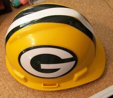 Green Bay Packers protective hat cap medium ANSI Z89.1, 2003 Type I Class E & G