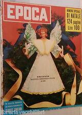 EPOCA 20 Dicembre 1953 Molotov Zoli Gino Cervi Churchill Hedy Lamarr Le Bon di e