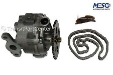 OIL PUMP & CHAIN & TENSIONER KIT FORD TRANSIT MK6 2.0 2.4 01/05/2003-2006