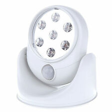Motion Activated Cordless Sensor LED Light  360 Rotation Indoor Outdoor Garden