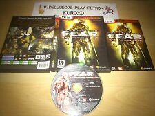 PC F.E.A.R FEAR EXTRACTION POINT EXPANSION COMPLETO PAL ESPAÑA