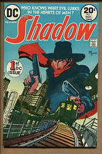 The Shadow #1 - 1st DC Issue! - 1973 (Grade 8.0) WH
