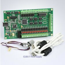 Revolutionary 3 Axis Mach3 CNC USB Motion Controller Card 200KHz Stepper Servo