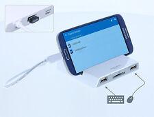 DeLock Dockingstation für Tablet + Smartphone   SD Cardreader + 3 Port HUB