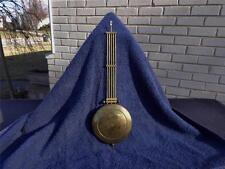Brass Pendulum German Open Well Regulator Junghans Kienzle Becker LFS Wall Clock