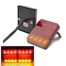 2X LED Pair LED Brake Tail Light Reverse Rear Turn Signal Lamp waterproof