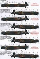 Xtradecal X72176 1/72 Avro Lancaster B.II 1943 Model Decals
