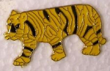 Hat Lapel Pin Scarf Clasp Cat Striped Tiger NEW