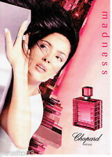 PUBLICITE ADVERTISING 066  2002  Chopard  parfums femme Madness