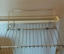 Stainless steel kitchen rail rack for cook book or similar