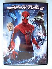 THE AMAZING SPIDER-MAN 2 DVD MOVIE 2014 ANDREW GARFIELD EMMA STONE JAMIE FOXX