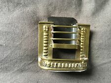 Antique Small, Miniature Brass Fireplace. Tradesmans  Sample. Rare and charming!