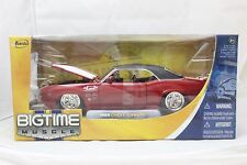 JADA BIGTIME MUSCLE 1969 CHEVY CAMARO RED 1/24 NEW IN BOX VERY RARE
