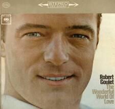 EASY LISTENING LP ROBERT GOULET WONDERFUL WORLD OF LOVE