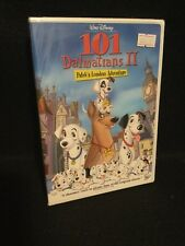 101 Dalmatians II Patch's London Adventure (DVD, 2003) RARE OOP Out Of Print NEW