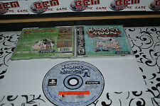Harvest Moon Back to Nature  PS1 Complete w/Manual * RPG RARE GAME* Works on PS2