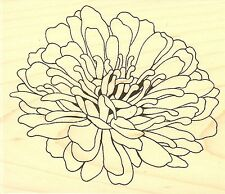 Evening Flower, Wood Mounted Rubber Stamp IMPRESSION OBSESSION - NEW, G16163