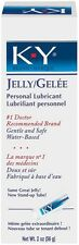 K-Y Jelly Medium 2 Oz Tube Lubricant Water Based Personal Lube New Adult Sexy