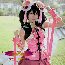 Love Live Awakening Nico Yazawa Chines Cheongsam Cosplay Costumes For Chrismas