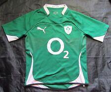 IRELAND RUGBY UNION IRFU home shirt jersey PUMA 2010 2011 IRISH adult SIZE M