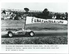 Ford Formula Ford Chevron Henry Morrogh 1970 Lotus 61 Italian Press Photograph
