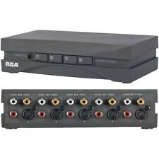 RCA VH911R Video Source Selector - Supports Up To 4 Components