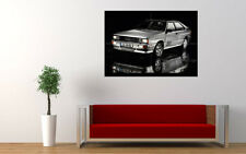 AUDI QUATTRO 1980 NEW GIANT LARGE ART PRINT POSTER PICTURE WALL