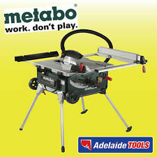 Metabo 2000 Watt 254mm Table Saw With Stand