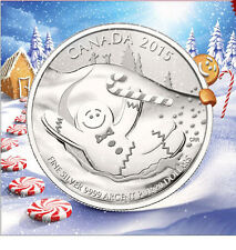 2015 Canada $20 for $20 Gingerbread Man 1/4oz Silver coin 20for20 series