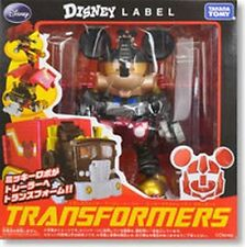 TF MICKEY MOUSE DISNEY  BLACK TAKARA TRANSFORMERS G-14845 4904810440338