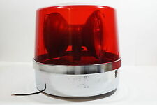 D542 Vintage 60s Unity Rv-26 Police Fire Emergency Beacon Red 1282 Dome