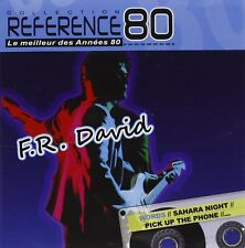 F.R. DAVID - Best of CD (Le Meilleur des Annees 80) - Words, 1980s, etc - New