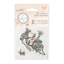 Docrafts Papermania clear stamp set from the Bellisima collection Perfume bottle