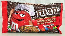 M&M's Dark Chocolate Baking Bits Candies Minis 10 oz M&M M&M's m & m