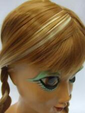 Anna Wig ~ Frozen ~ childrens size ~ Professional quality  ~ Pantomime ~ Cosplay